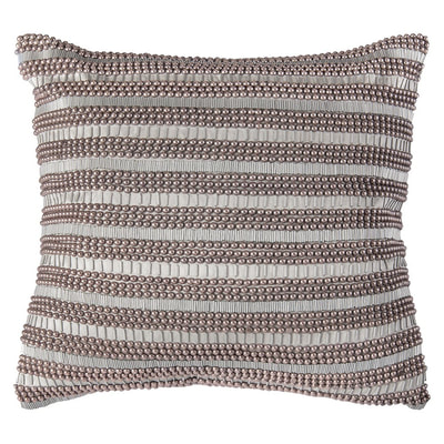 Rizzy Home hand appliqué throw pillow