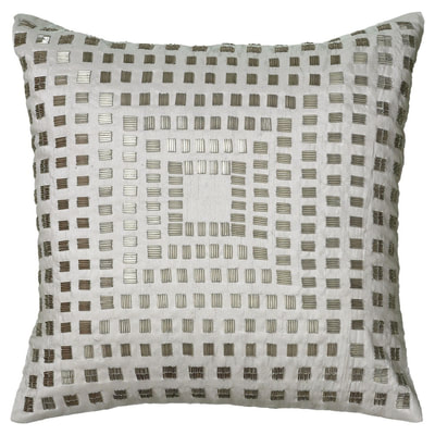 Rizzy Home Sequined shimmer throw pillow