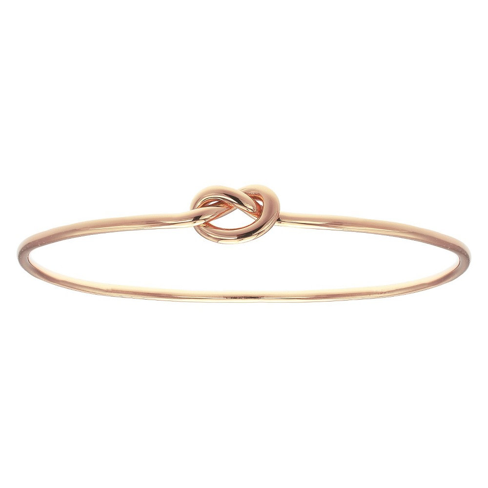 Knot bracelet in rose gold