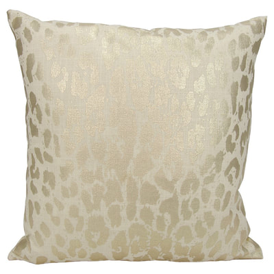 Nourison metallic leopard throw pillow