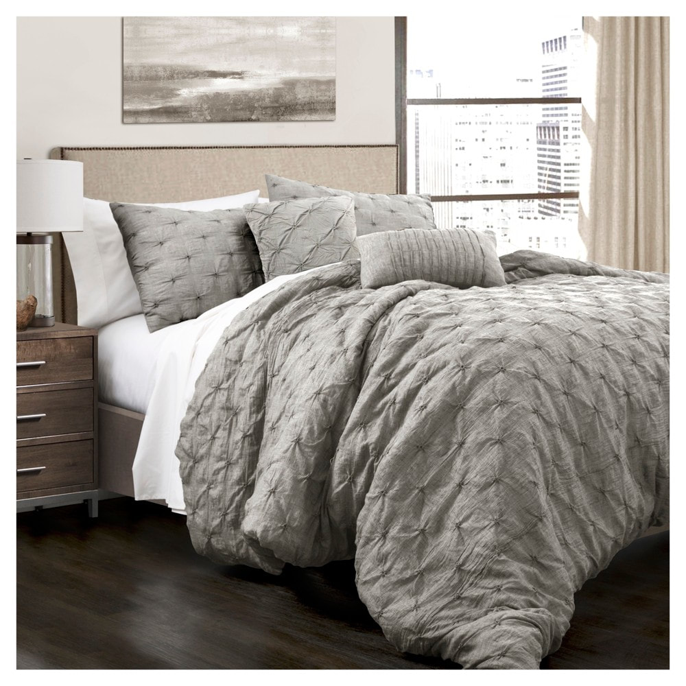 Revello pintuck comforter set